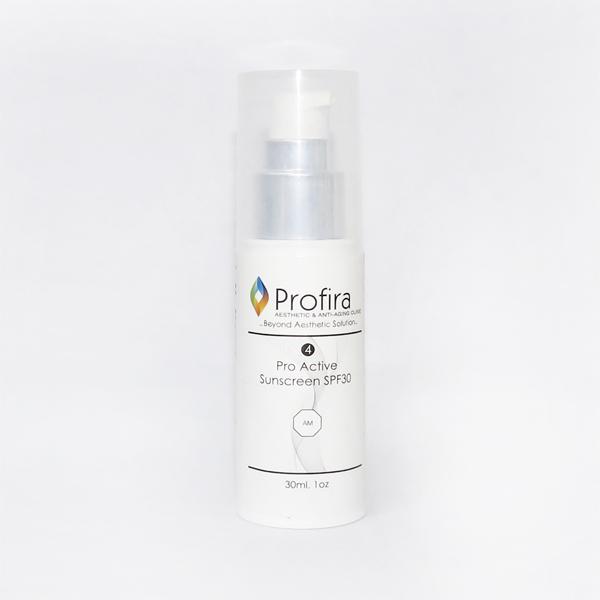 Pro Active Sunscreen SPF30